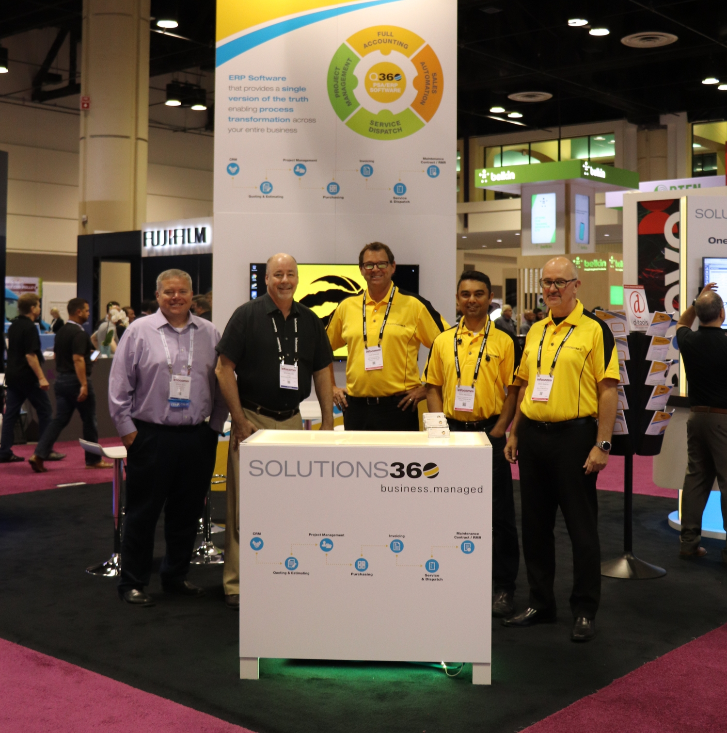 Solutions360 at InfoComm 2019