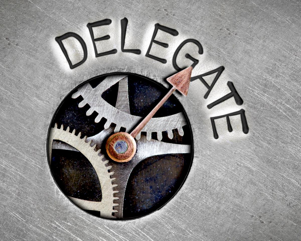 delegate responsibility